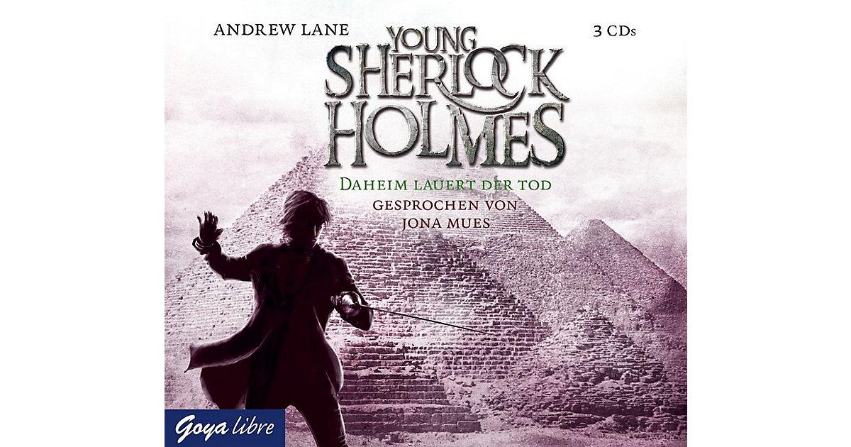 Young Sherlock Holmes: Daheim lauert der Tod, 3 Audio-CDs Hörbuch