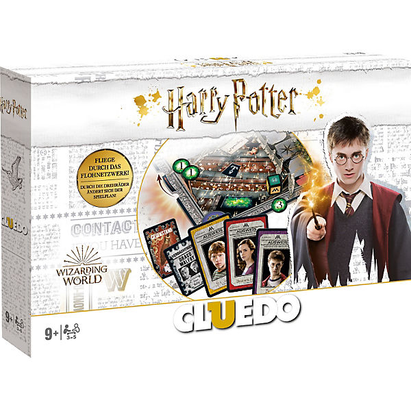 Cluedo Harry Potter Neues Design In Weiss Harry Potter Mytoys
