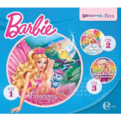 CD Barbie - Dreamtopia-Box, 3 Audio-CD
