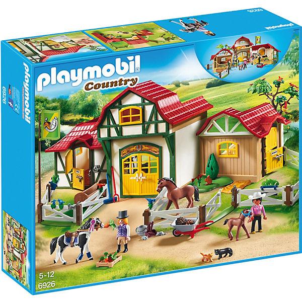 Playmobil 6926 Großer Reiterhof Playmobil Country Mytoys