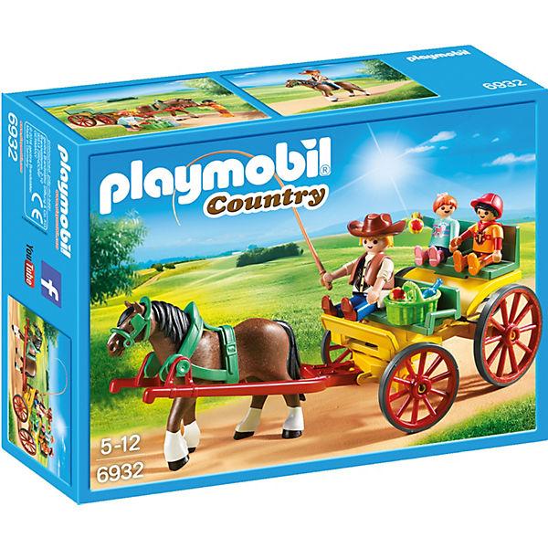 Playmobil 6932 pferdekutsche playmobil country mytoys - Playmobil kutsche ...