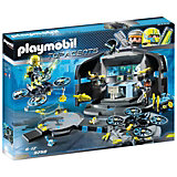 "Конструктор Playmobil ""Командный пункт доктора Дрона"""