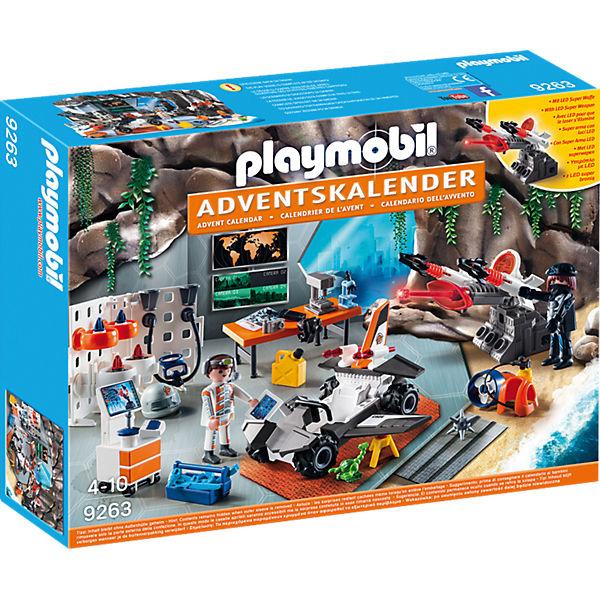 Playmobil 9263 Adventskalender Spy Team Werkstatt Playmobil