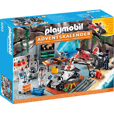 "PLAYMOBIL® 9263 Adventskalender ""Spy Team Werkstatt"""