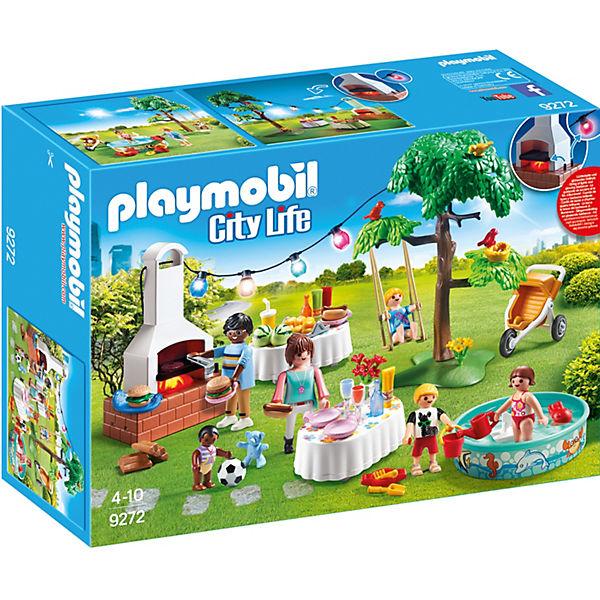 Playmobil 9272 Einweihungsparty Playmobil City Life Mytoys