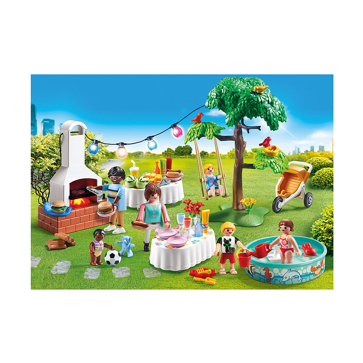 playmobil 9272 einweihungsparty playmobil city life mytoys. Black Bedroom Furniture Sets. Home Design Ideas