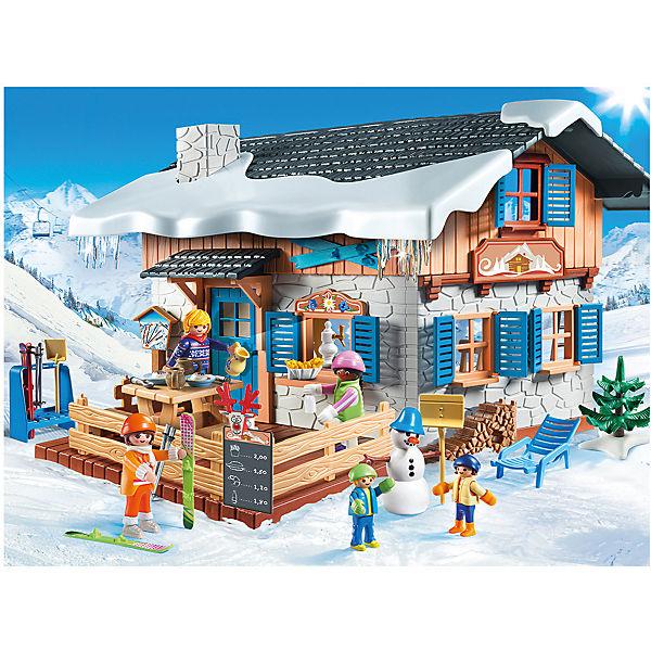 Конструктор Playmobil Лыжная база, 66 деталей