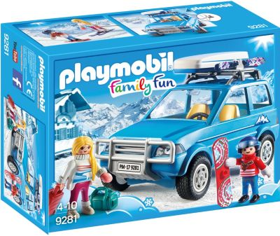 Konstruktionsspielzeug PLAYMOBIL Familien-PKW Bau- & Konstruktionsspielzeug-Sets