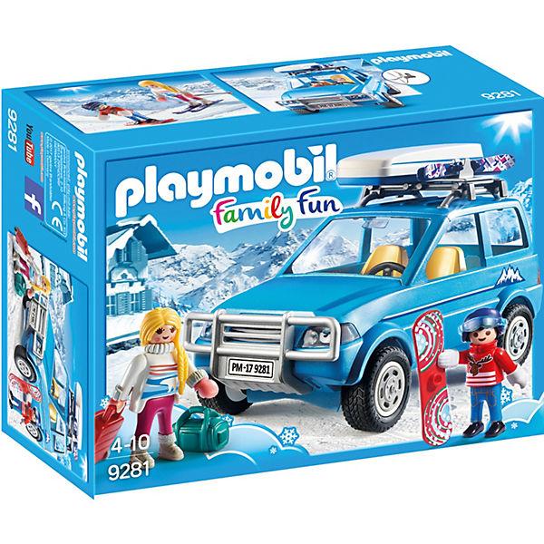 Конструктор Playmobil Зимний внедорожник, 17 деталей