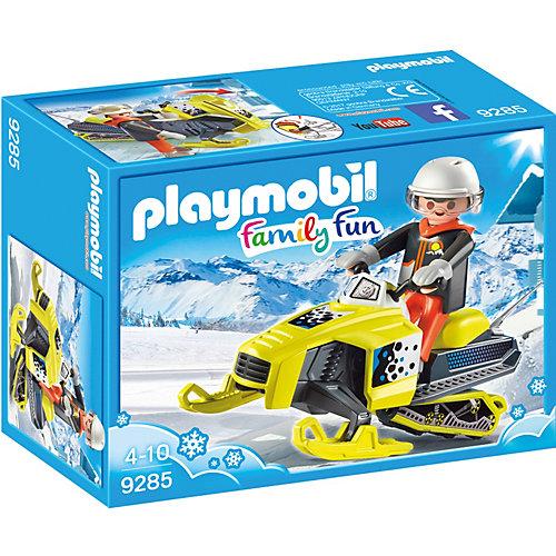 Конструктор Playmobil Сноумобиль, 5 деталей от PLAYMOBIL®