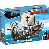 Конструктор Playmobil Драконий корабль викингов, 10 деталей