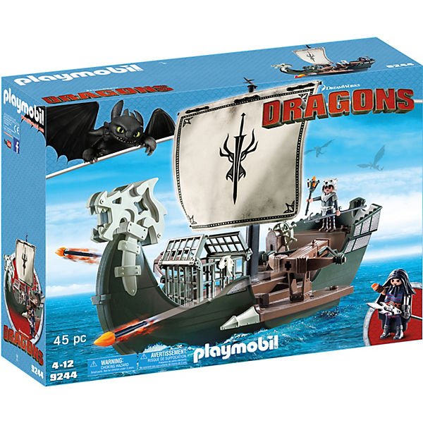 Playmobil 9244 Dragos Schiff Dragons Mytoys