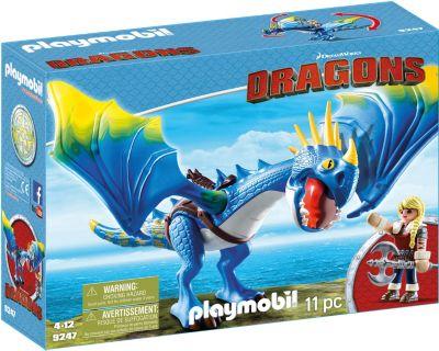 Playmobil 9247 Astrid Und Sturmpfeil Dragons Mytoys