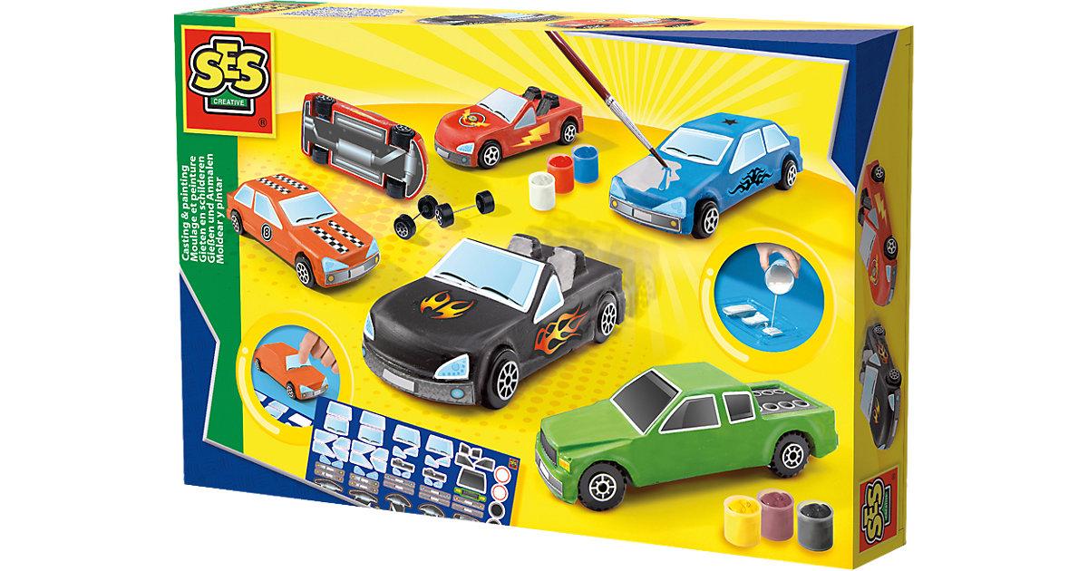 Gießen und Anmalen - Autos