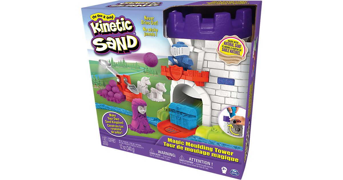 Spin Master · Kinetic Sand Magic Molding Tower