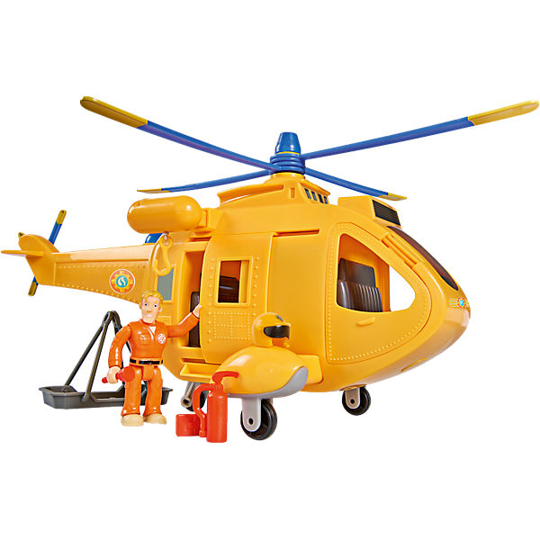 Feuerwehrmann Sam - Hubschrauber Wallaby 2 mit Figur, Feuerwehrmann Sam