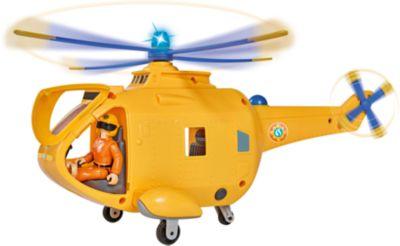 Kinderbett hubschrauber  Feuerwehrmann Sam Hubschrauber mit Figur, Feuerwehrmann Sam | myToys