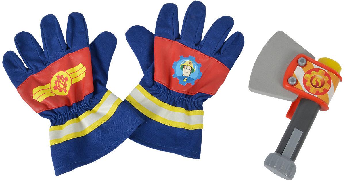 Feuerwehrmann Sam - Feuerwehrhandschuhe und Axt Jungen Kinder