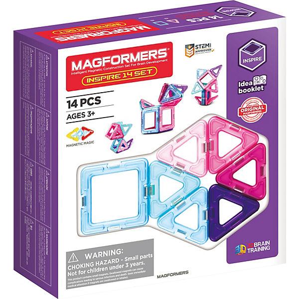 Magformers Inspire Set 14 teilig, MAGFORMERS