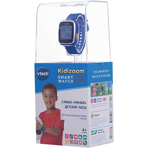 Цифровые часы для детей Kidizoom Smartwatch DX, синие, Vtech от Vtech