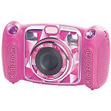 Цифровая камера kidizoom duo, розовая, Vtech