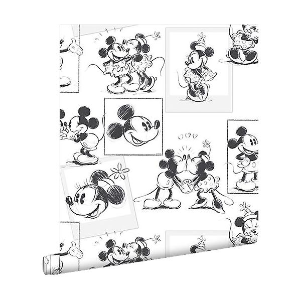 tapete mickey minnie mouse 10 m x 53 cm disney mickey mouse friends mytoys. Black Bedroom Furniture Sets. Home Design Ideas