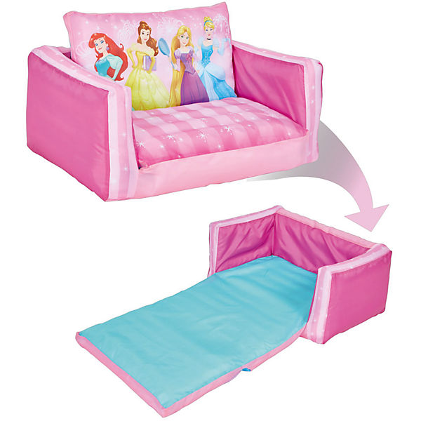 aufblasbares sofa disney princess ausklappbar disney princess mytoys. Black Bedroom Furniture Sets. Home Design Ideas
