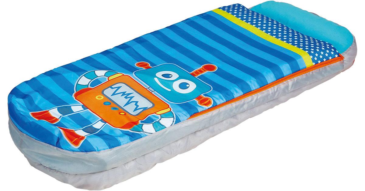 ReadyBed Junior 2in1 (Schlafsack, Kissen und Luftmatratze), Robots blau/orange Gr. 60 x 150 | Baumarkt > Camping und Zubehör | WORLDS APART