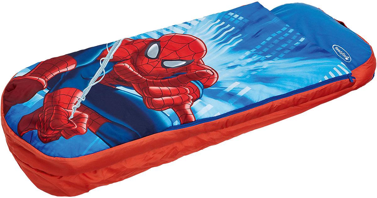 ReadyBed Junior 2in1 (Schlafsack, Kissen und Luftmatratze), Spiderman blau/rot Gr. 60 x 150 | Baumarkt > Camping und Zubehör > Luftmatratzen und Isomatten | WORLDS APART