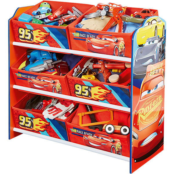 6-Boxen Regal, Cars 3