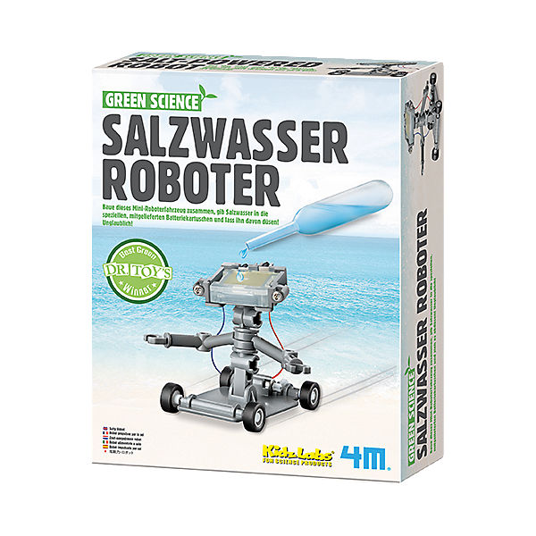Green Science - Salzwasser Roboter