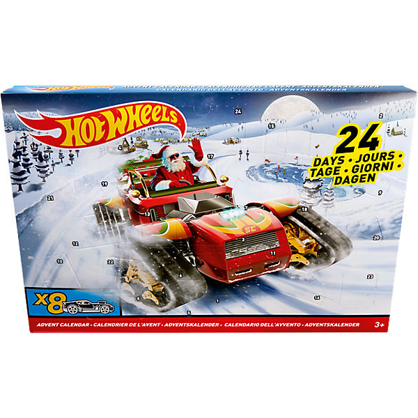 Hot Wheels Adventskalender 2017