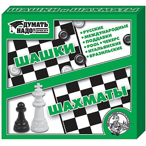 """Настольная игра """"Шашки, шахматы"""", Десятое королевство от Десятое королевство"""