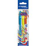 Набор шариковых  ручек Expert Complete Neon Drive, син.чернила, цвет синий+оранжевый+зеленый
