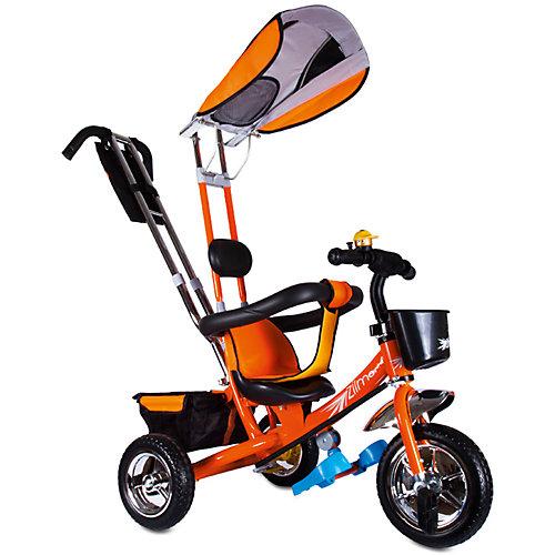 Трехколесный велосипед Zilmer Бронз Люкс, оранжевый от Zilmer