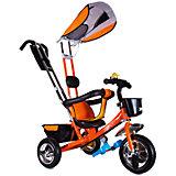 Трехколесный велосипед Zilmer Бронз Люкс, оранжевый