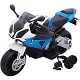 """Электромотоцикл """"BMW S1000RR"""", со светом и звуком, Zilmer"""