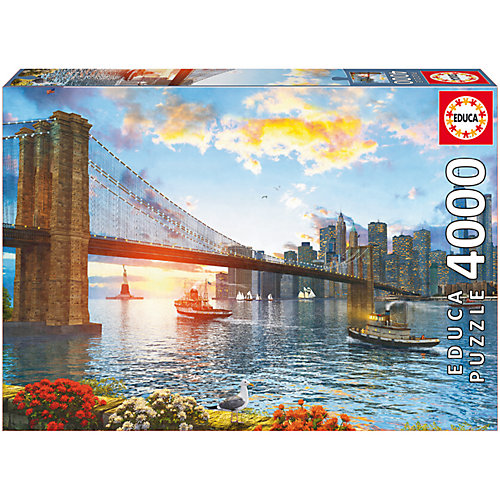 "Пазл ""Бруклинский мост"", 4000 деталей, Educa от Educa"