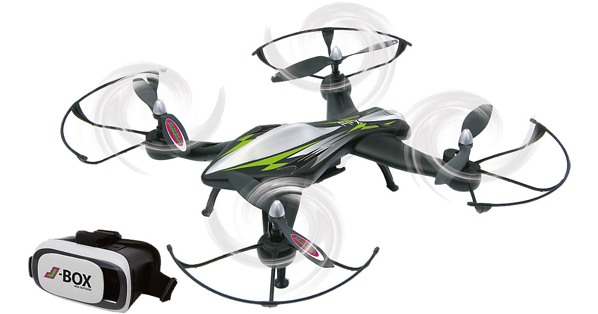 Jamara RC F1X VR Altitude Wifi FPV Quadrocopter...