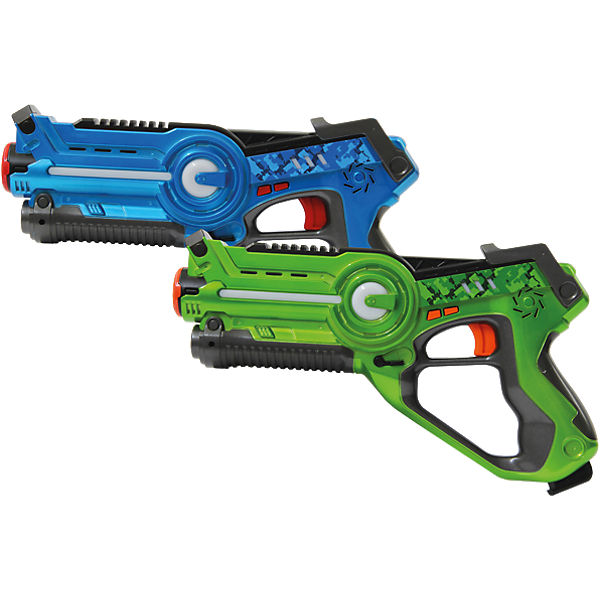 Jamara Impulse Laser Battle Set blau/grün