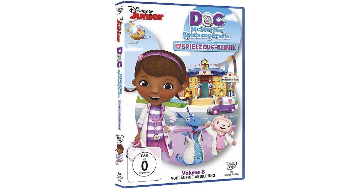 DVD Doc McStuffins Spielzeugärztin 8 - Die Spie...