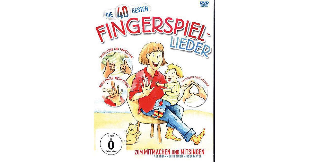 DVD Die 40 besten Fingerspiellieder
