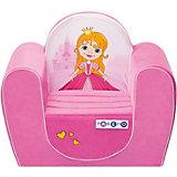 Игровое кресло Paremo Принцесса, розовое