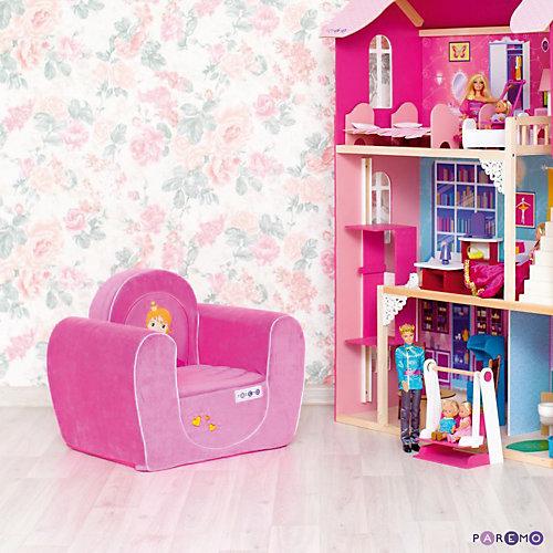 Игровое кресло Paremo Принцесса, розовое от PAREMO