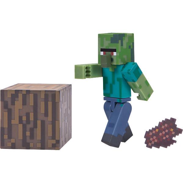 Minecraft Zombie Dorfbewohner Mit Accessoires Minecraft MyToys - Minecraft spiele mit zombies