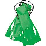 Ласты для плавания, р-р 37-41, зеленые, Bestway