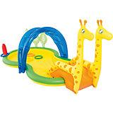 Бассейн с брызгалкой и принадлежностями для игр Зоопарк, Bestway