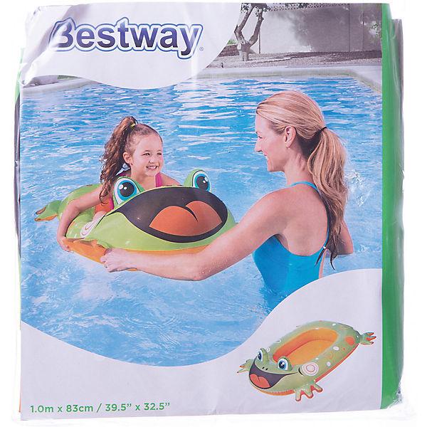 Надувная лодочка Лягушка, Bestway