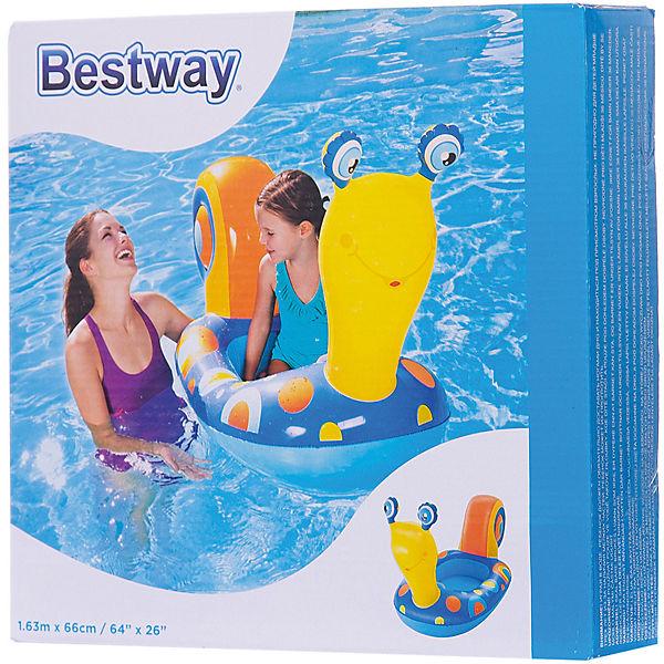 Надувная лодочка Улитка, Bestway, голубая