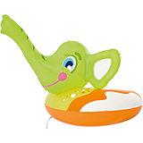 Круг для плавания Слоник с брызгалкой, Bestway, зеленый